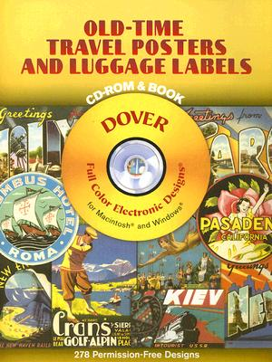 Old-time Travel Posters And Luggage Labels By Grafton, Carol Belanger (EDT)